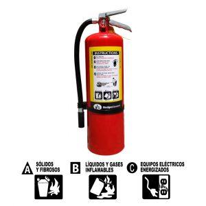 Extintores PQS BADGER